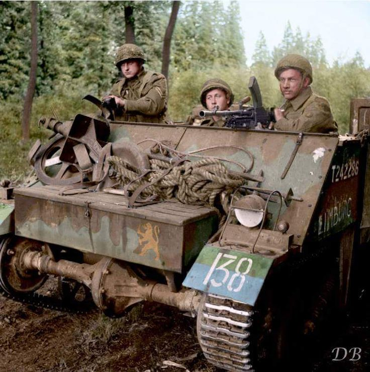A Loyd Carrier of the Prinses Irene Brigade, Royal Netherlands Motorized Infantry. September 18 1944. Pin by Paolo Marzioli