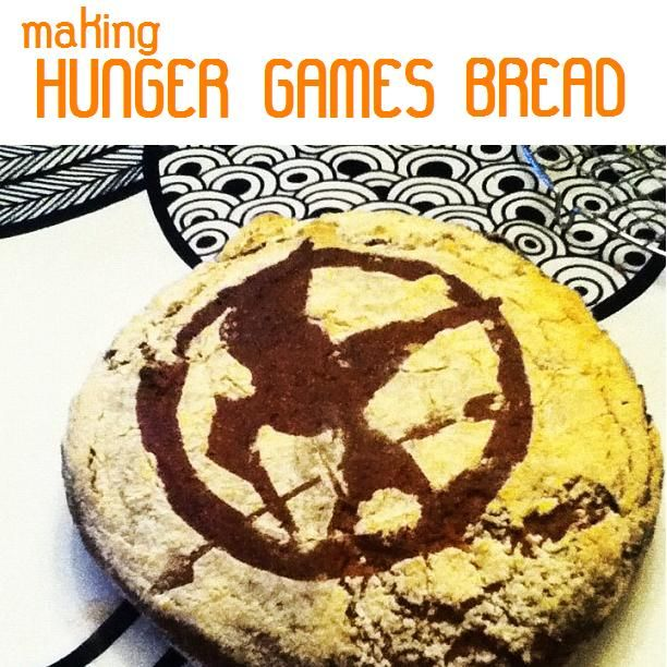 Throwing a Hunger Games party for the movie? Make some bread with