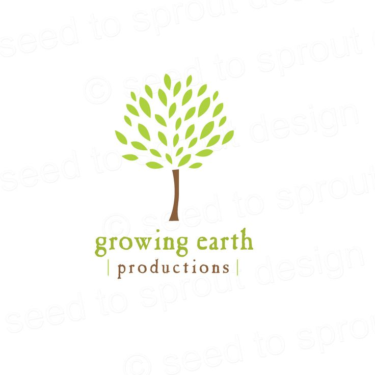 Image detail for -Tree Logo Design Premade Earth Tree Nature SOLD by seedtosprout
