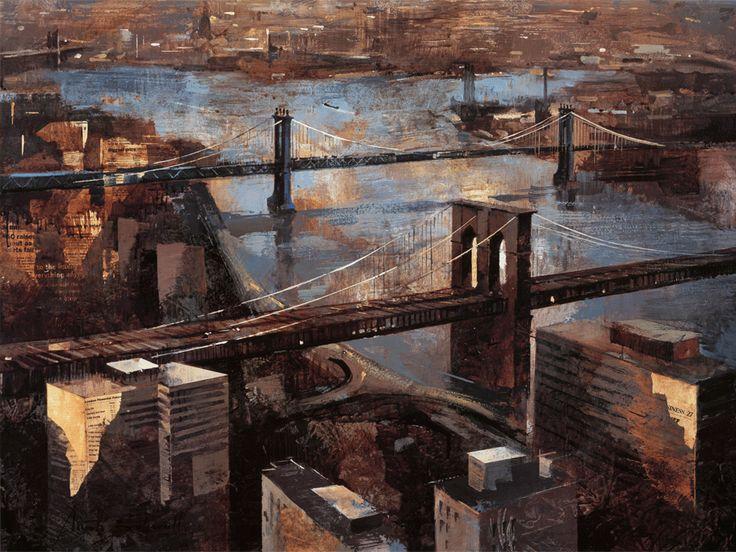 Panoramic View of Manhattan by Marti Bofarull
