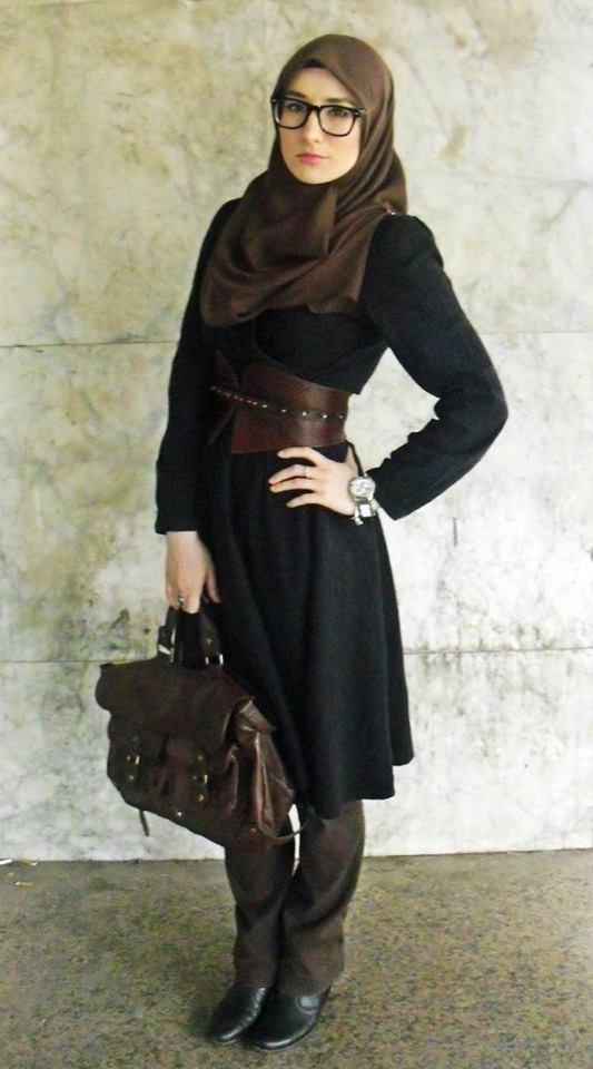 sophisticated and so chic! #hijab #hijabfashion
