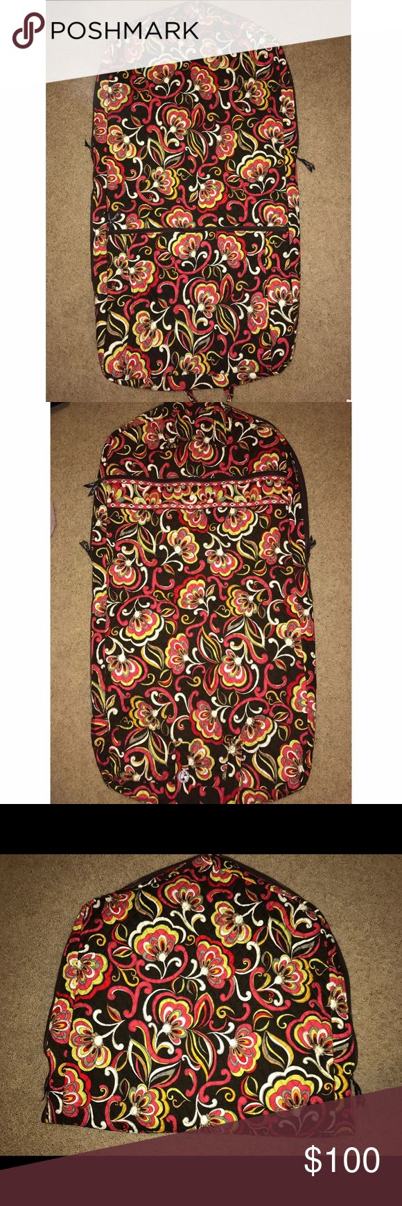 Vera Bradley Garment bag Vera Bradley on The Go garment bag                      ~    In retired pattern : Puccini                                             ~     Lots of room and very durable bag no signs of wear and tear // like new Vera Bradley Bags Travel Bags