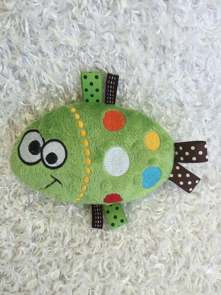 Fish Stuffed Toy / Plush Stuffed Animal / Plush Animals / Soft Toy / Taggie Toy…