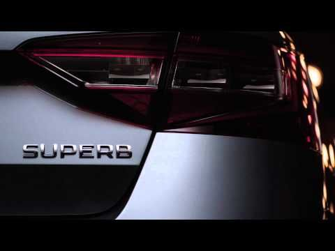 New Škoda #Superb #video