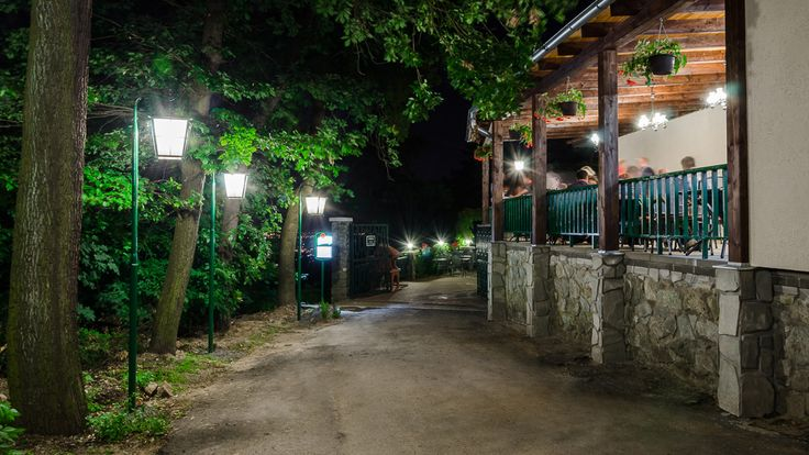 Night side terrace
