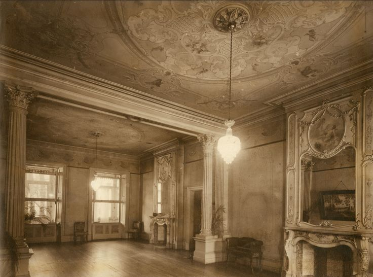 The magnificent ballroom of Burdekin House, Sydney, photographed in 1933 before it was demolished. Calls to make it a historical museum were ignored.