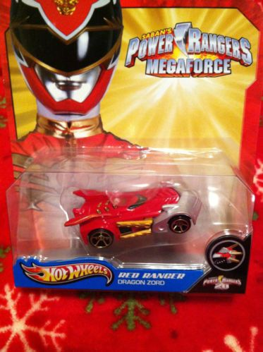 Saban's Power Rangers Mega Force Hot Wheels:  Red Ranger~ Dragon Zord~ New in Box! | eBay Only $4.99 in my Store & Only 1 Left.