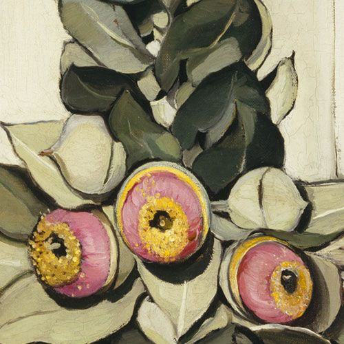Margaret Preston- Western Australian gum blossom. Painted in 1928