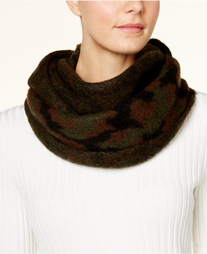 Steve Madden Camouflage Infinity Scarf