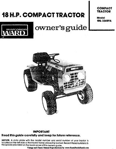 Montgomery WARDS Gilson Brothers Tractors Operator Owner
