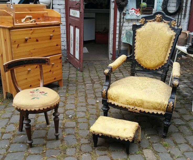Love the details... #brocante #antique #antiquefurniture #flohmarkt #mainz #rococo #mainzhechtsheim #estatesale