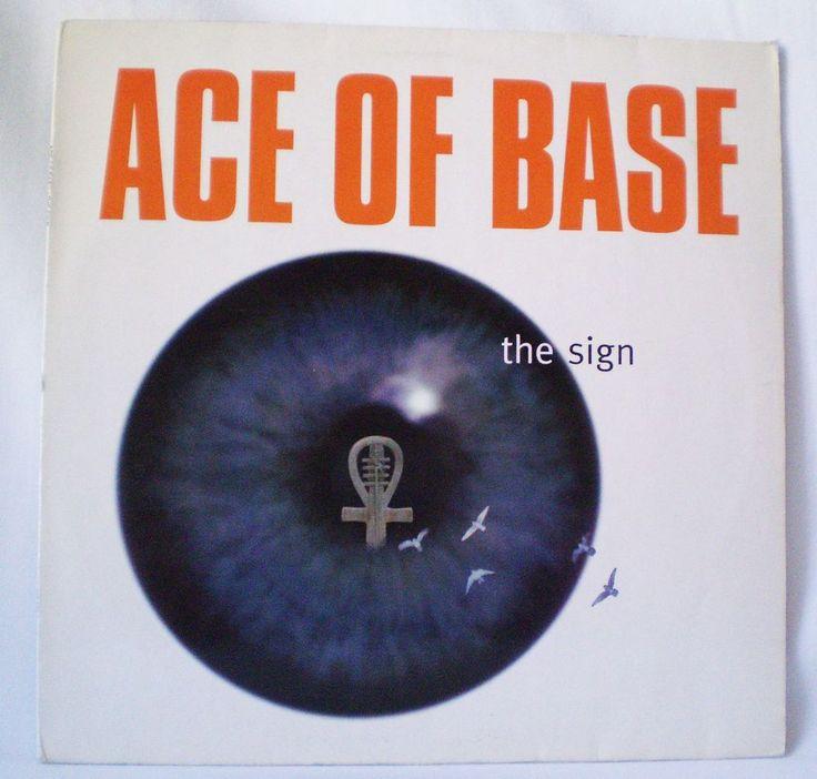 ACE OF BASE, The Sign, RARE 12''(Single) 45 RMP, 1ED, Germany,  Matrix: 1A, 1B