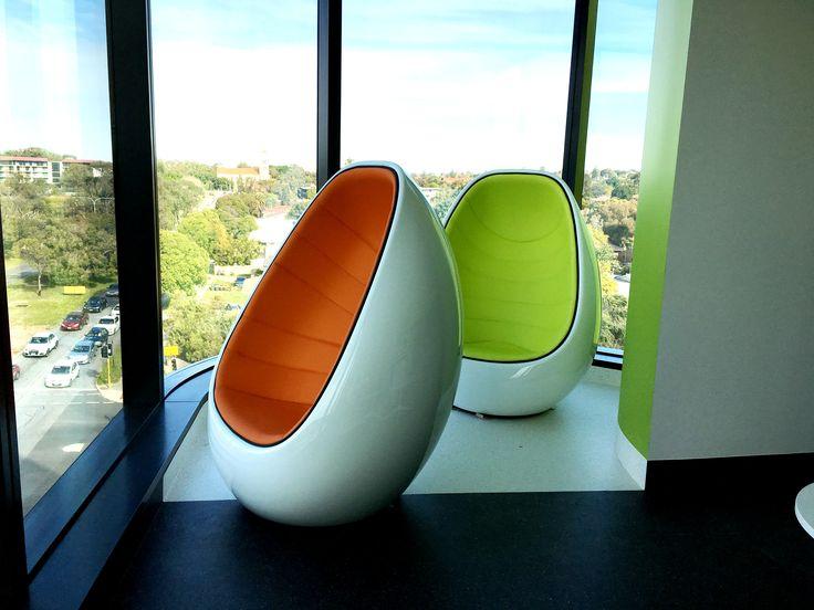 Martela KOOP chairs @ Perth Children's Hospital by Burgtec WA