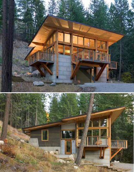 Best 25 Rustic modern cabin ideas on Pinterest House design