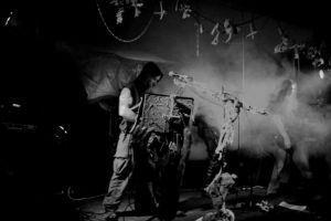 Christchurch extreme metal band Sinistrous Diablous courtesy Rebecca Tovey