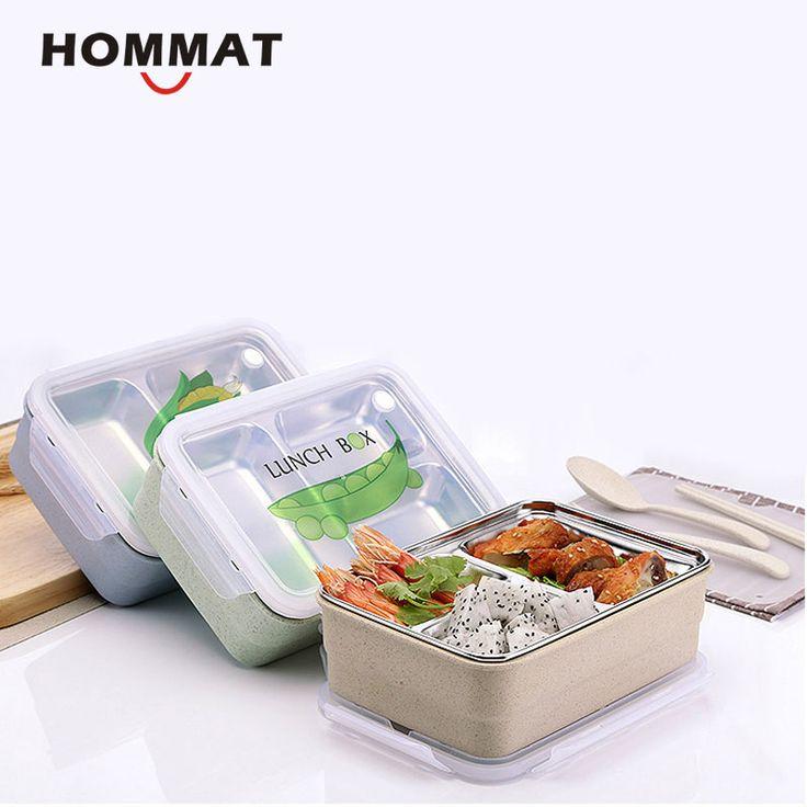 Японский Коробки для обедов Bento Box с отделениями