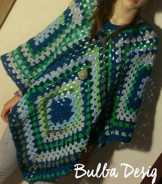 Hey, I found this really awesome Etsy listing at https://www.etsy.com/listing/578304991/unique-crochet-poncho-boho-clothing