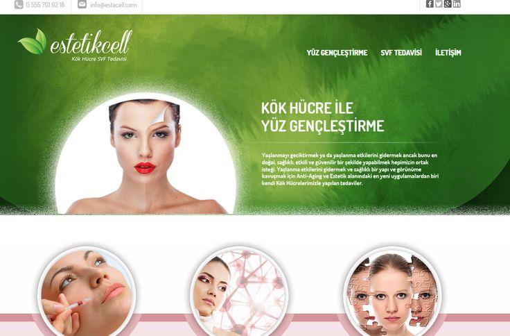 www.estecell.com kök hücre ile yüz gençleştirme, kök hücre ile cilt gençleştirme, estetik kök hücre tedavileri