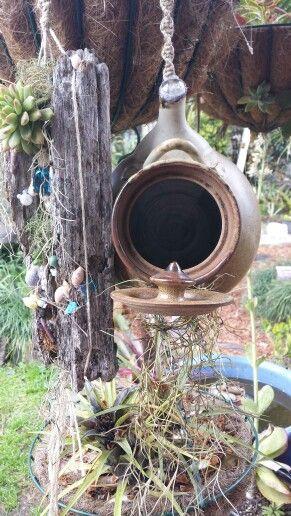 Bird feeder / house