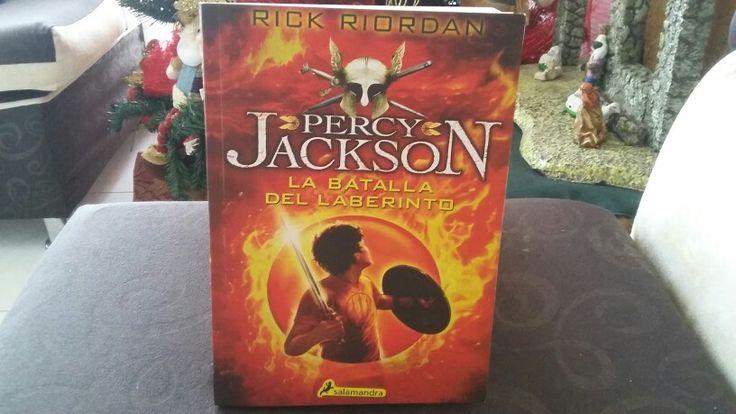 """""""Percy Jackson y la batalla del laberinto"""" escrito por Rick Riordan.:"""