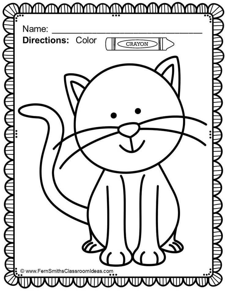 preschool family themed coloring pages - photo#26