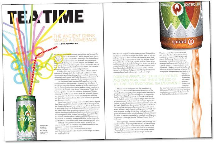 Emilia McClymont: Magazine Layouts
