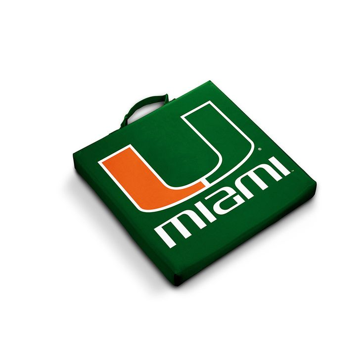 Miami Hurricanes NCAA Stadium Seat Cushions
