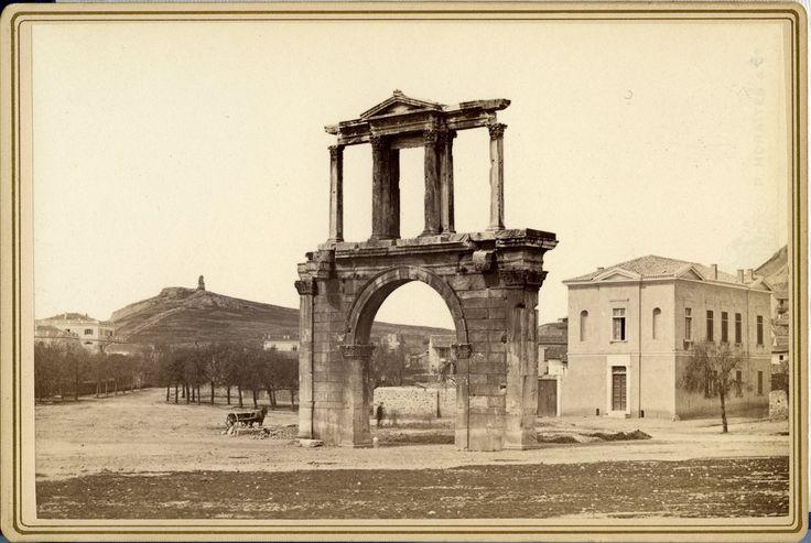 Emperor Hadrian's Arch 1875