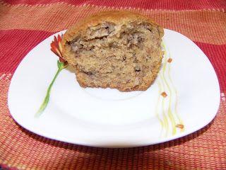 Muffins aux bananes et noix de Olive et Gourmando