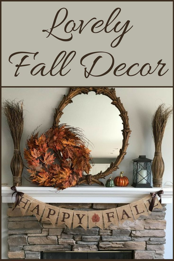 Lovely Home Decor Accents for Fall
