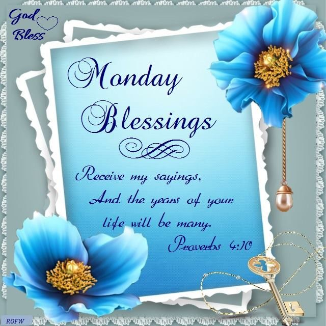 44 best monday blessings images on pinterest monday - Monday blessings quotes and images ...