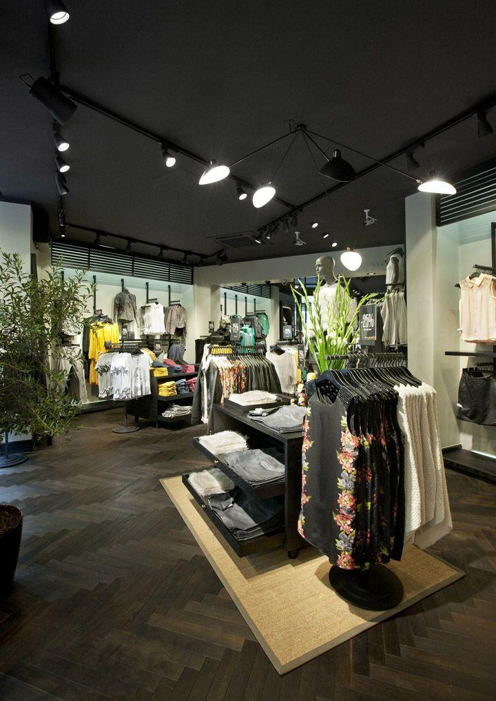 VILA Clothes shop by Riis Retail, Vimmelskaftet Copenhagen   Denmark store design