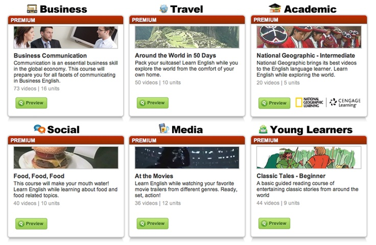 Visit our course catalog and take a course to learn English and much more!