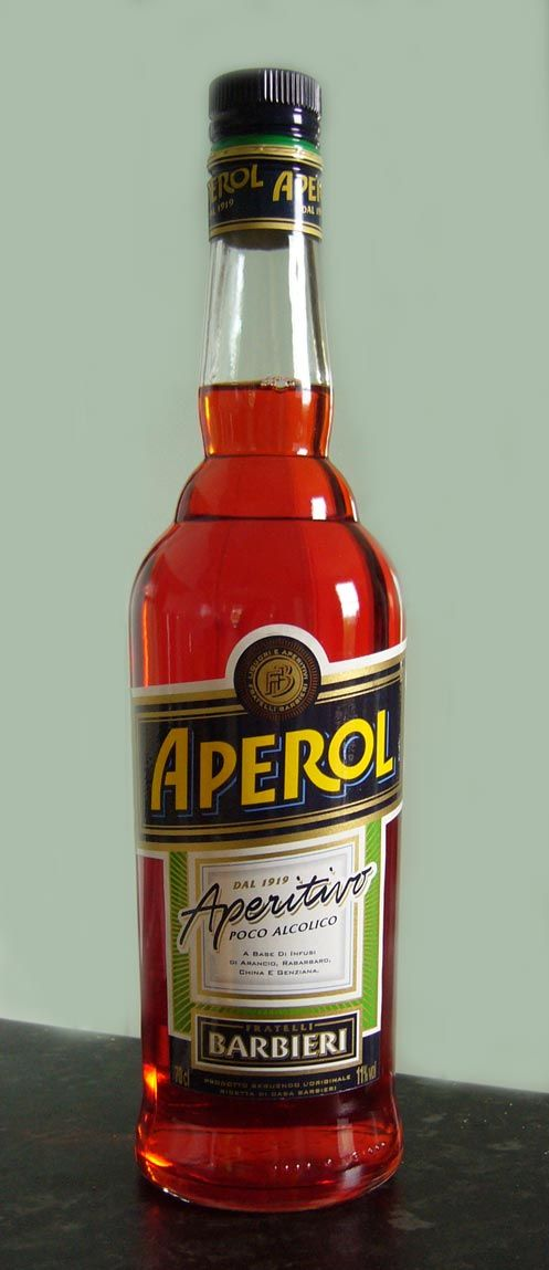 Aperol - Wikipedia, the free encyclopedia