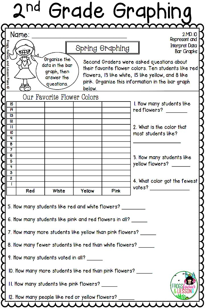 Graphing activities and assessments for the entire year! This amazing resource has a Back to School file, a Fall file, a Winter file, and a Spring file. Each file goes with a different time of the year and has activities and assessments for pictographs, bar graphs, and line plots! Check out the preview today!