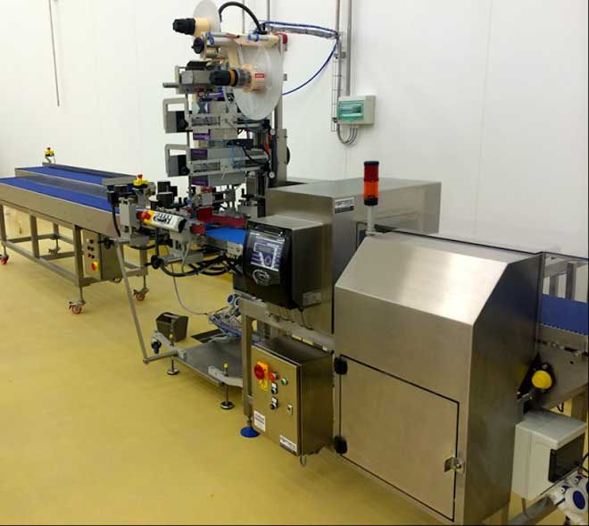 Custom designed metal detector - Metal Detectors Deliver Critical Control Point Protection for Bakery Lines