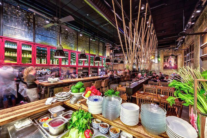 Thai restaurant by Studio Yaron Tal, Tel Aviv hotels and restaurants