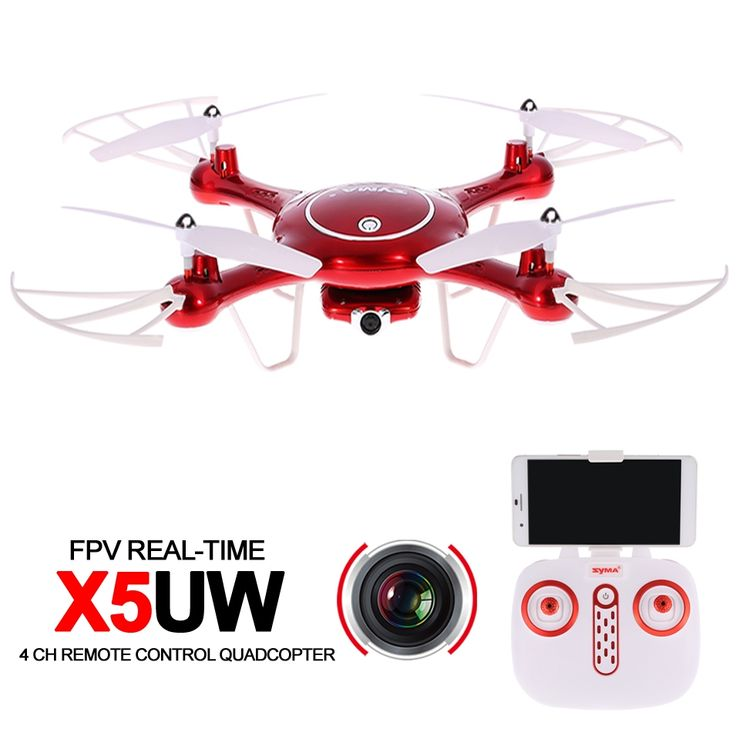 90.00$  Watch here - http://alibv6.worldwells.pw/go.php?t=32748301764 - Syma X5UW RC Wifi Drone FPV Quadcopter RTF With Camera HD 2.4G 4CH Professional Drones APP Control Rc Helicopter For Adults 90.00$