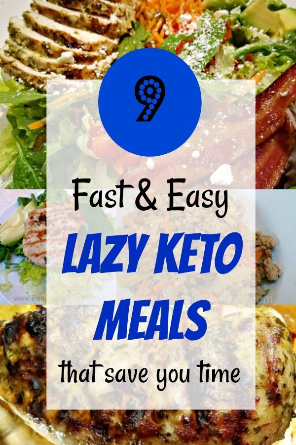 9 Lazy Keto Recipes That Save You Time Easy Keto Meal Plan Keto Diet Meal Plan Keto Recipes Easy