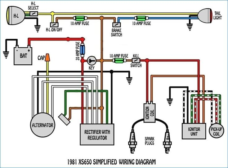 Inspiring 1981 Honda Goldwing 0 Wiring Diagram S Best