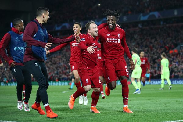 Xherdan Shaqiri Photos Photos Liverpool Vs Barcelona Uefa Champions League Semi Final Second Leg Uefa Champions League Champions League Liverpool