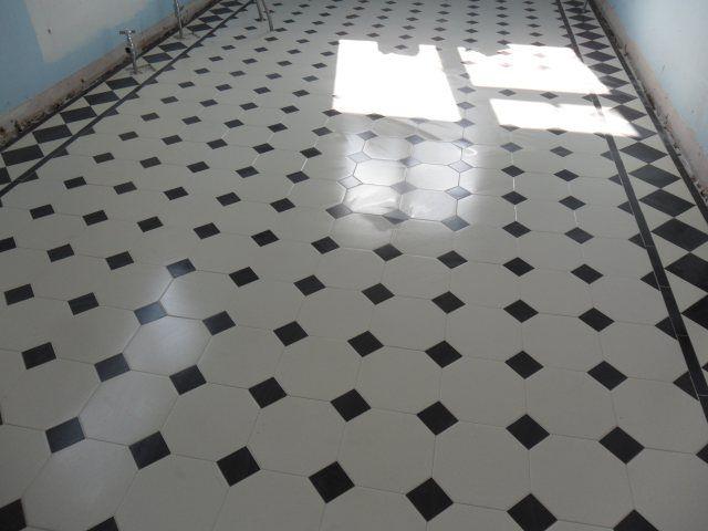 Geometrical Design Bathroom Floor Tile: 28 Best Images About Victorian Bathrooms On Pinterest