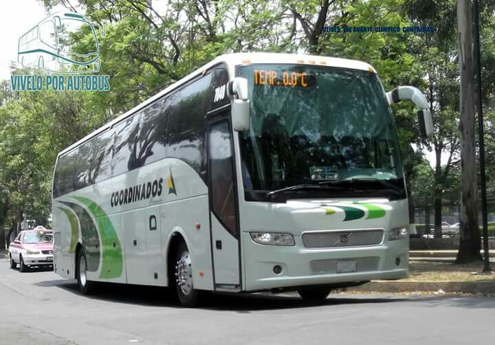 Volvo 9700 coordinados México