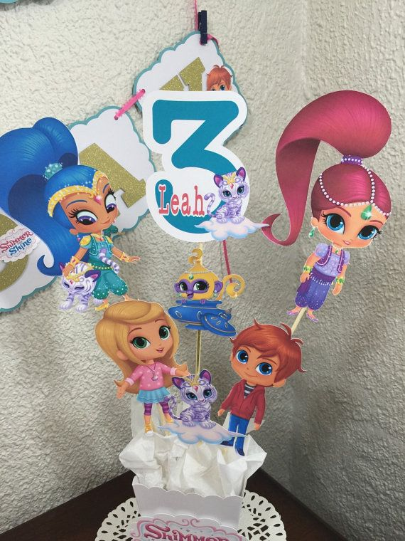 Personalized Birthday Cake Toppers