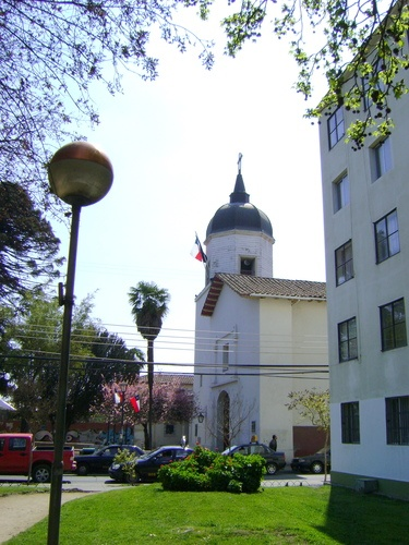 Iglesia La Merced de Rancagua. Es la iglesia católica más antigua de Rancagua, sufrió graves daños por el Terremoto de 2010.