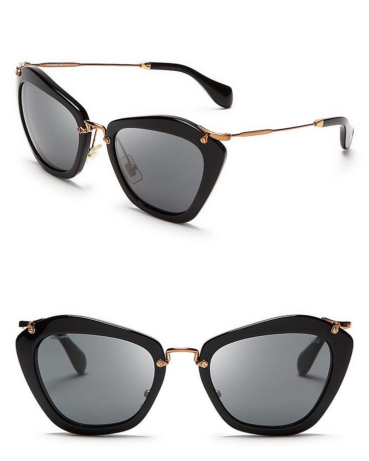 Miu Miu Catwalk Sunglasses | Bloomingdale's