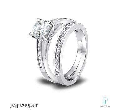 Jeff Cooper Diamond Engagement Ring