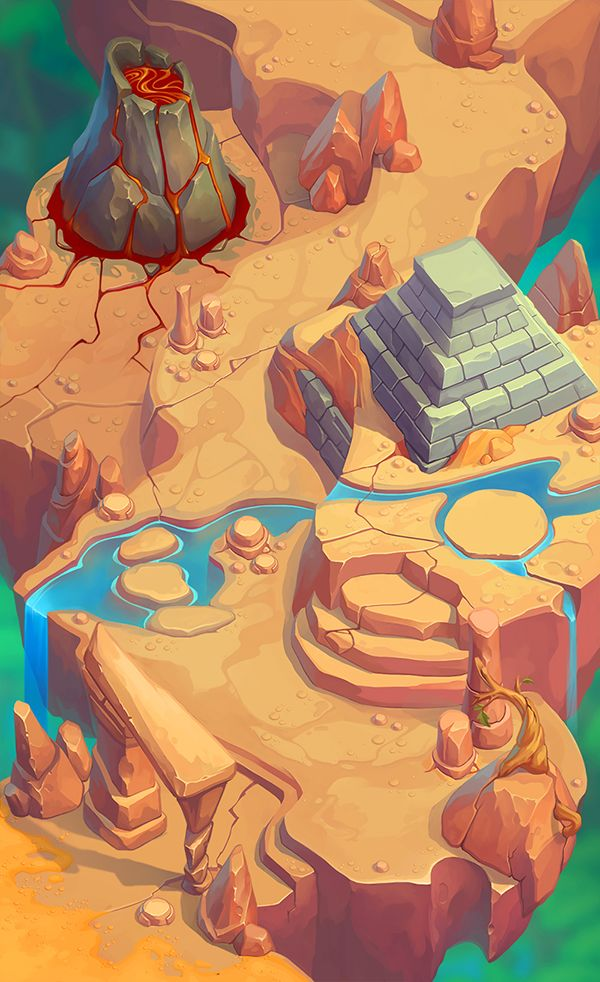 Game map on Behance                                                                                                                                                     More
