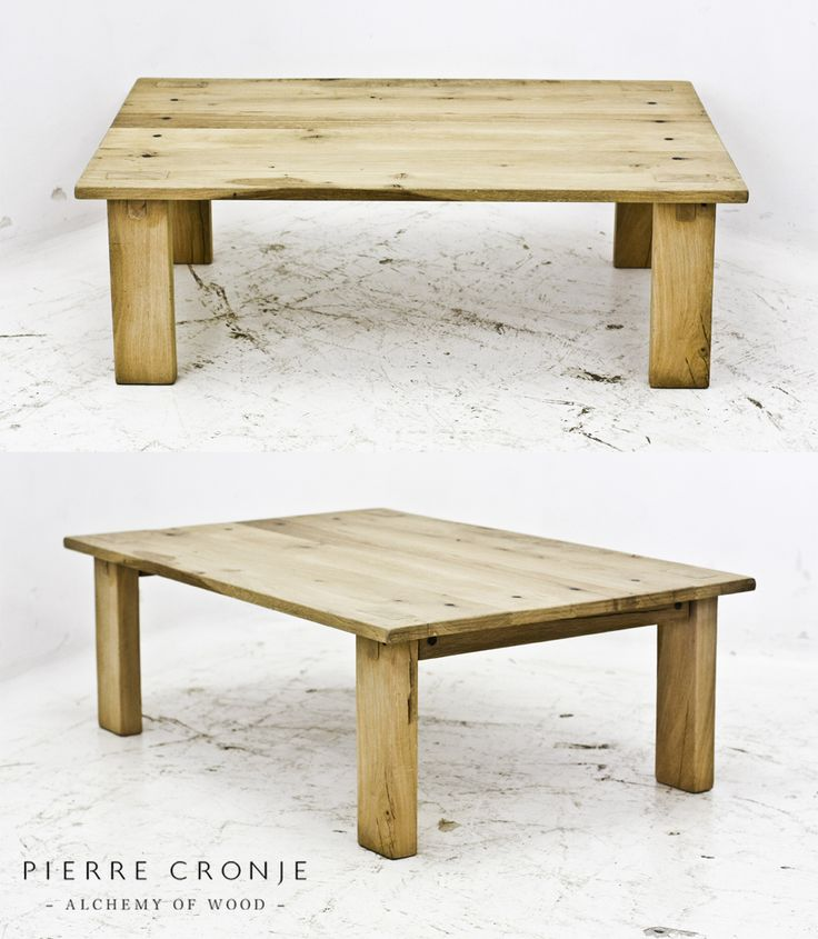 Pierre Cronje Loft Coffee table in French Oak