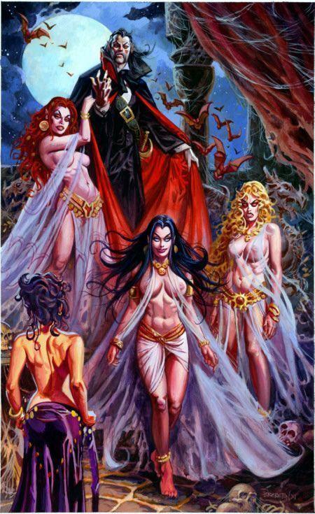 silver necklaces for women Dracula  39 s Brides